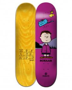 """Желтый дека для скейтборда peanuts shermy x schaar 8.38"""""""