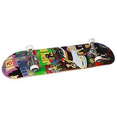 Скейтборд в сборе Юнион Megapolis 7,875x31,875 Low, Колёса 51mm/100a