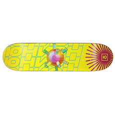 Желтая дека для скейтборда юнион psycho 8.0 x 31.75 (20.3 см)