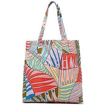 Белый женская пляжная сумка infinity