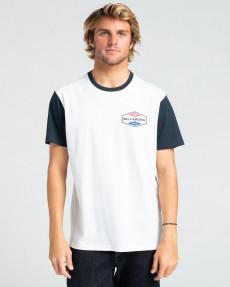 Белый мужская футболка surplus