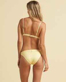 Желтые женские плавки sundipped tropic