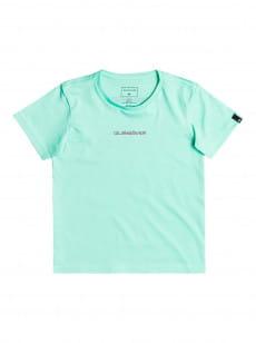Голубой детская футболка easy gone 2-7
