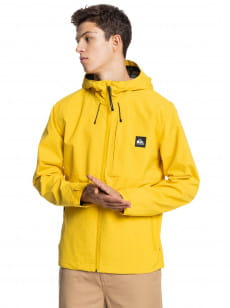 Желтый мужская куртка lizard head