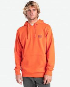 Оранжевое мужской свитшот walled