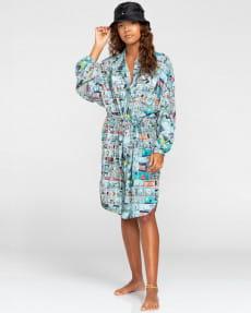 Женское мини платье-рубашка оверсайз Peanuts Marshmallow