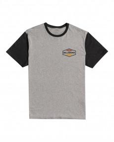Серый мужская футболка surplus