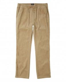 Бежевый мужские эластичные брюки layback