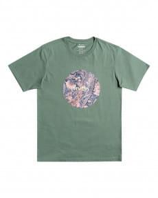 Зеленый мужская футболка motors