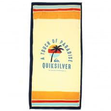 Белый пляжное полотенце quiksilver