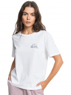 Белый женская футболка standard