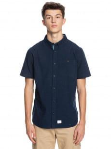 Синий мужская рубашка с длинным рукавом belambro