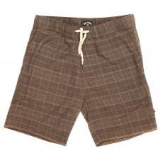 "Коричневый мужские эластичные шорты layback yarn dye 18.5"""