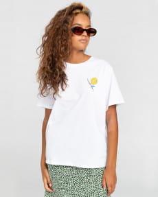 Оранжевый женская футболка rise and shine