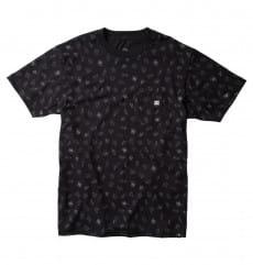 Черный мужская футболка wes kremer