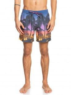 Голубой мужские плавательные шорты sunset