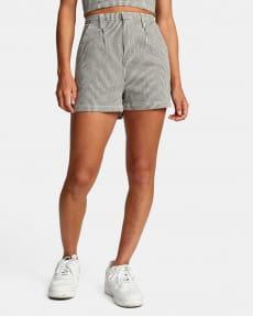 Серый женские шорты с высокой талией willow