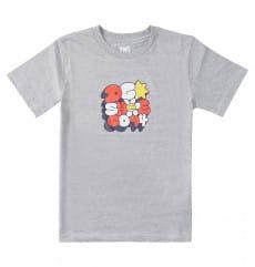 Серый детская футболка bubble fun