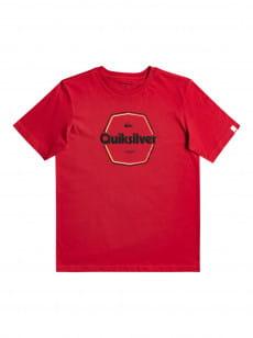 Красный детская футболка hard wired 8-16