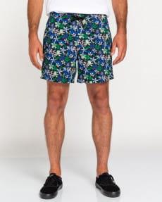 "Мультиколор мужские эластичные шорты chillin 17"""