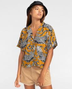 Женская рубашка с короткими рукавами Java