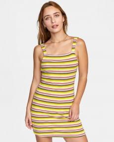 Желтый женское мини-платье nobody's babe