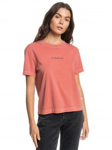 Белый женская футболка quiksilver womens