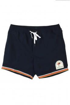 Оранжевый мужские плавательные шорты tape of paradise