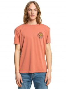 Оранжевый футболка mountain view