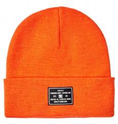 Оранжевые шапка-бини label