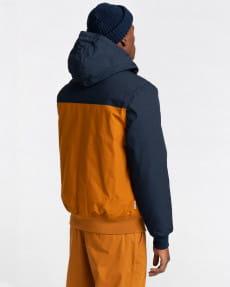 Синий мужская водонепроницаемая куртка wolfeboro dulcey two tones