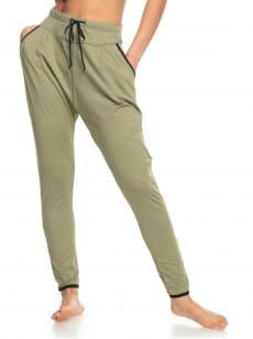 Зеленый штаны для йоги love aint enough