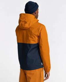 Синий мужская водонепроницаемая куртка wolfeboro alder two tones
