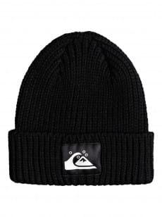 Черная шапка-бини quiksilver womens the beanie
