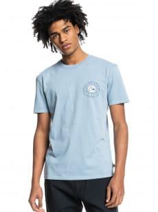 Голубой футболка silent dusk