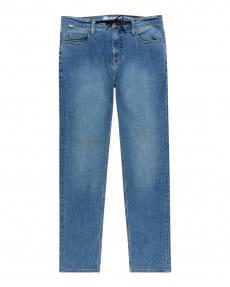 Желтые мужские джинсы прямого кроя e02