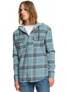 Бирюзовый рубашка с длинным рукавом halidon