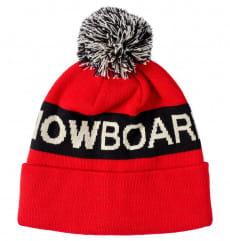 Красные шапка-бини chester