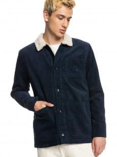 Синий вельветовая куртка wintery