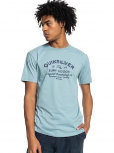 Голубой футболка closed tion