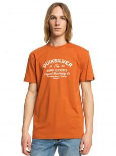 Оранжевый футболка closed tion