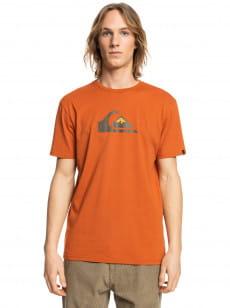 Оранжевый футболка comp logo