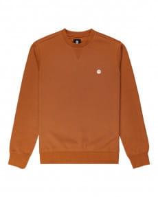Оранжевый свитшот cornell classic