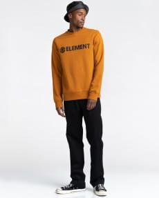 Оранжевый мужской свитшот blazin