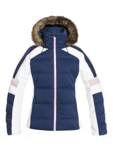 Синий сноубордическая куртка snow blizzard