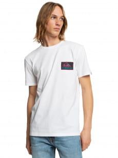Белый футболка return to the moon
