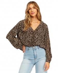 Коричневый женская блуза meant to be