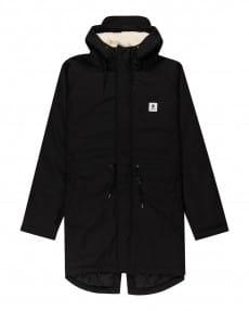 Черный мужская водонепроницаемая куртка field parka