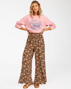 Коричневый женские брюки wandering soul 2