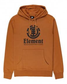 Оранжевое мужское худи vertical